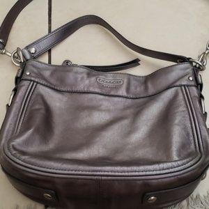 Coach Handbag Silver